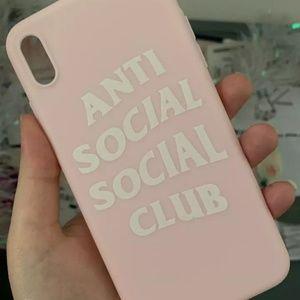 BRAND NEW ANTI SOCIAL SOCIAL CLUB CASE